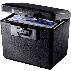fire safe file storage boxes