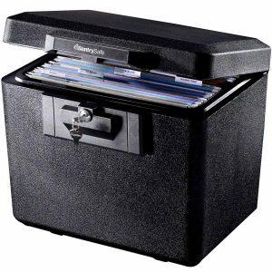 fire safe file storage boxes
