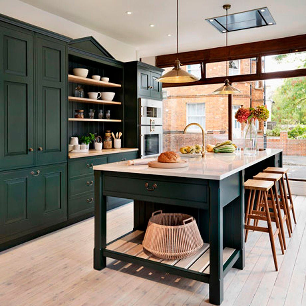 13 Stunning Dark Kitchen Cabinet Ideas Family Handyman