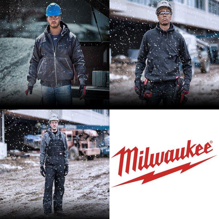 Cold-weather gear from Milwaukee | Construction Pro Tips