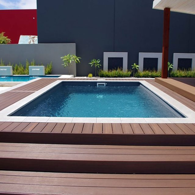 Pool decking done by Newtech Wood | Construction Pro Tips