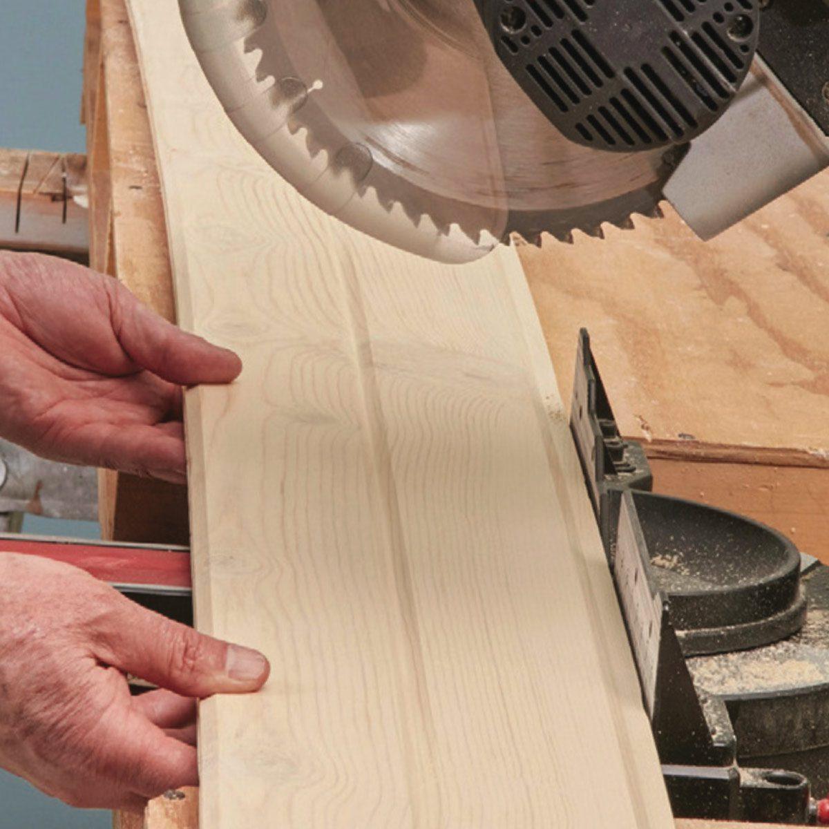 Cut problem boards shorter