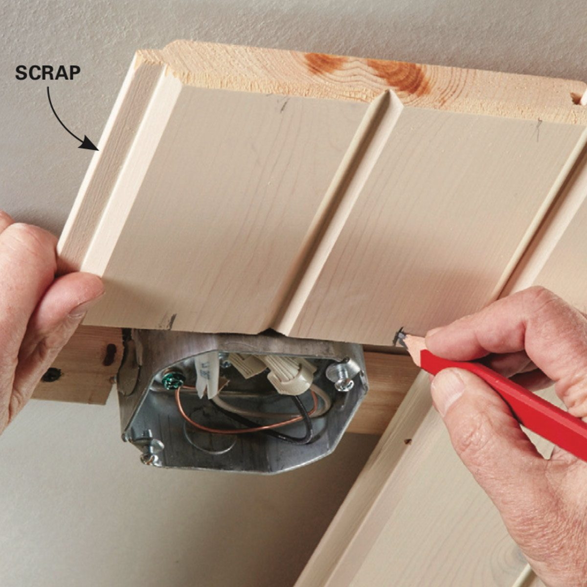 Wood Plank Ceiling: How to Install a Tongue and Groove Ceiling