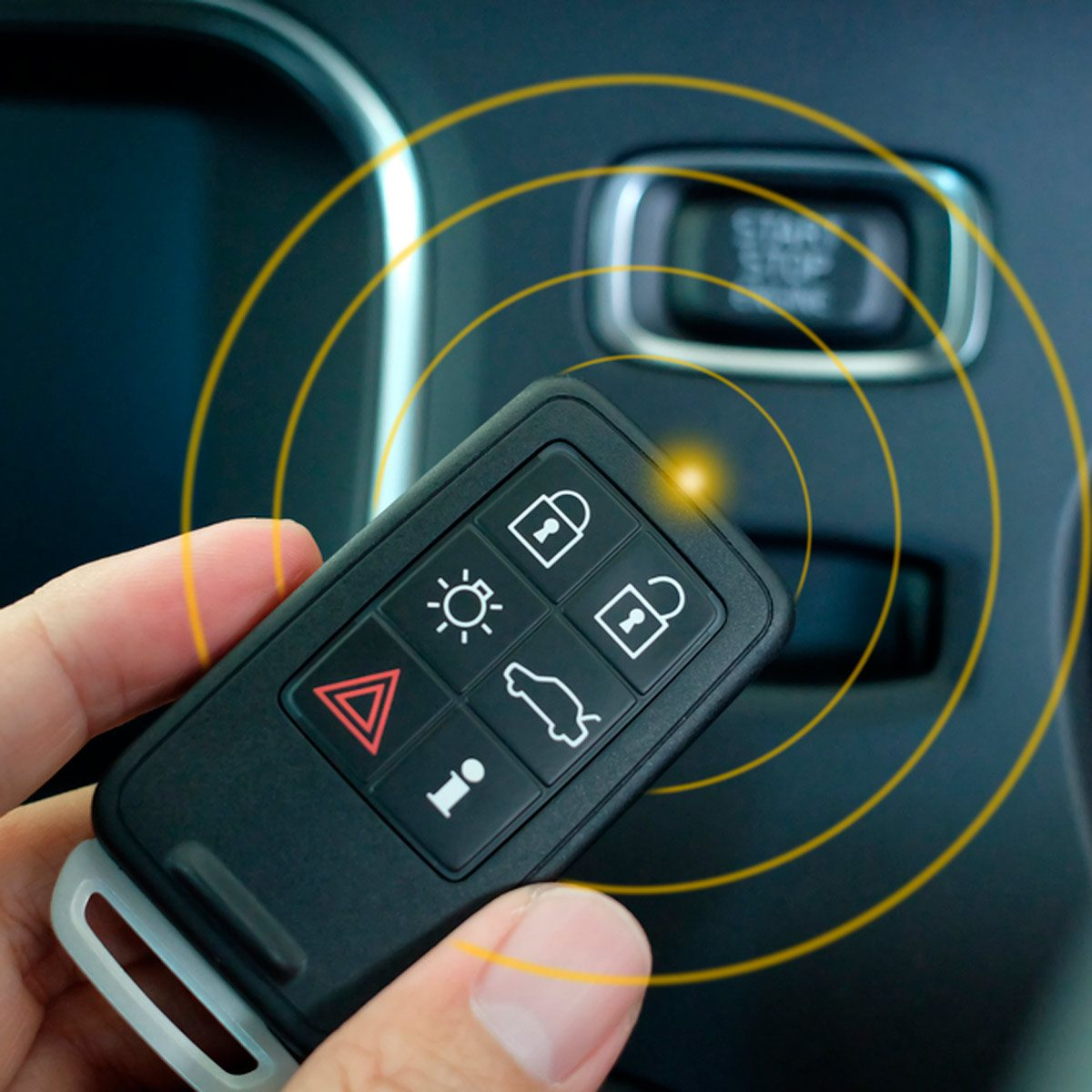 keyless entry car lock