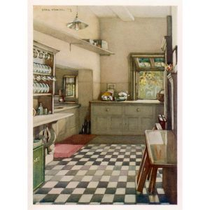 Why Do Old Homes Have a Tiny Kitchen and a Huge Pantry?