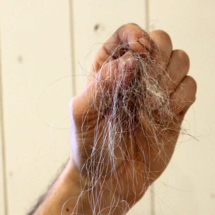 Hair in a hand (gross) | Construction Pro Tips