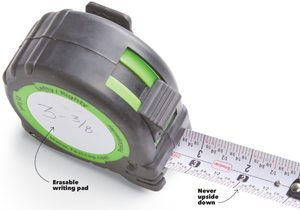 easy read tape measure
