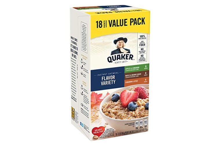 Quaker Instant Oatmeal, Variety Value Pack, 18 Count