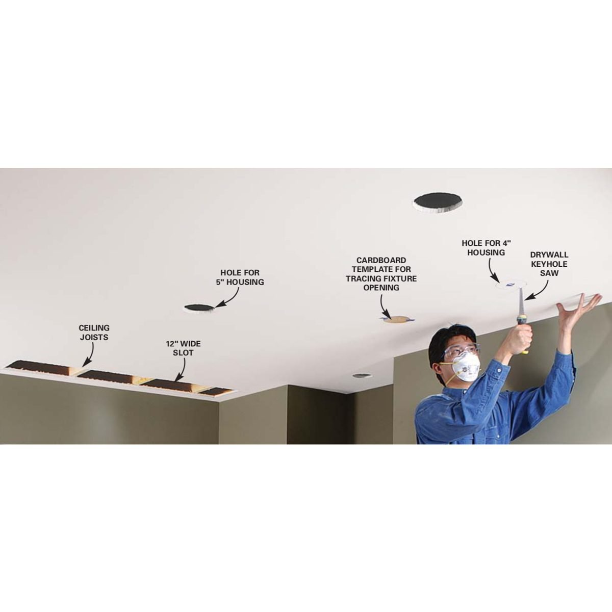 Installing Recessed Lighting: Installing Recessed Lighting For Dramatic Effect