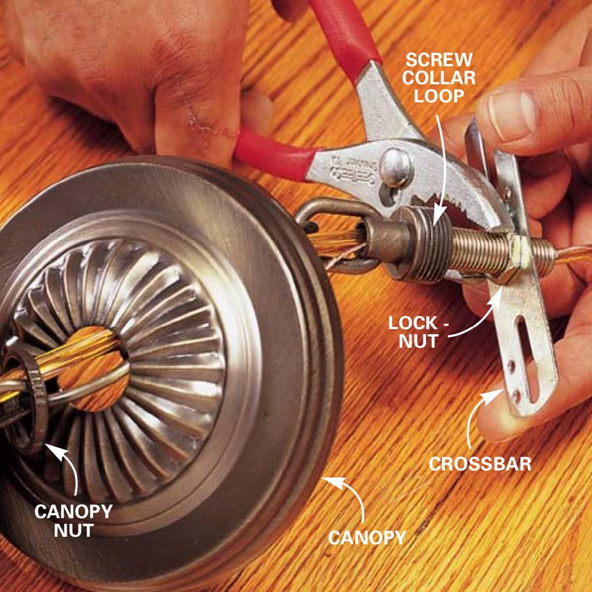 Ceiling Rose Wiring With Two Wat Switching Using The Older Cable