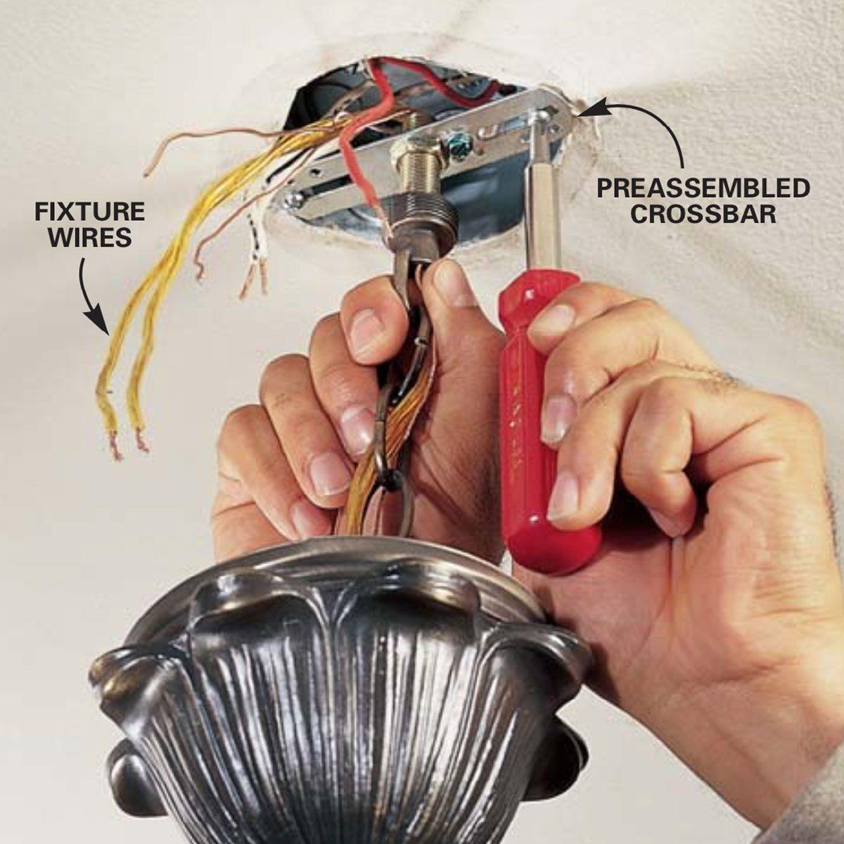 Wiring For A Light Fixture