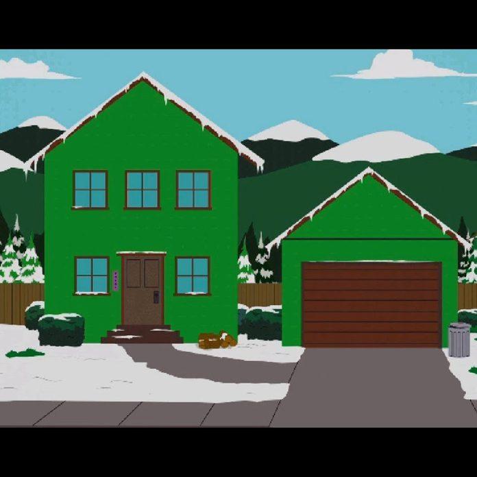 Cartman house South Park