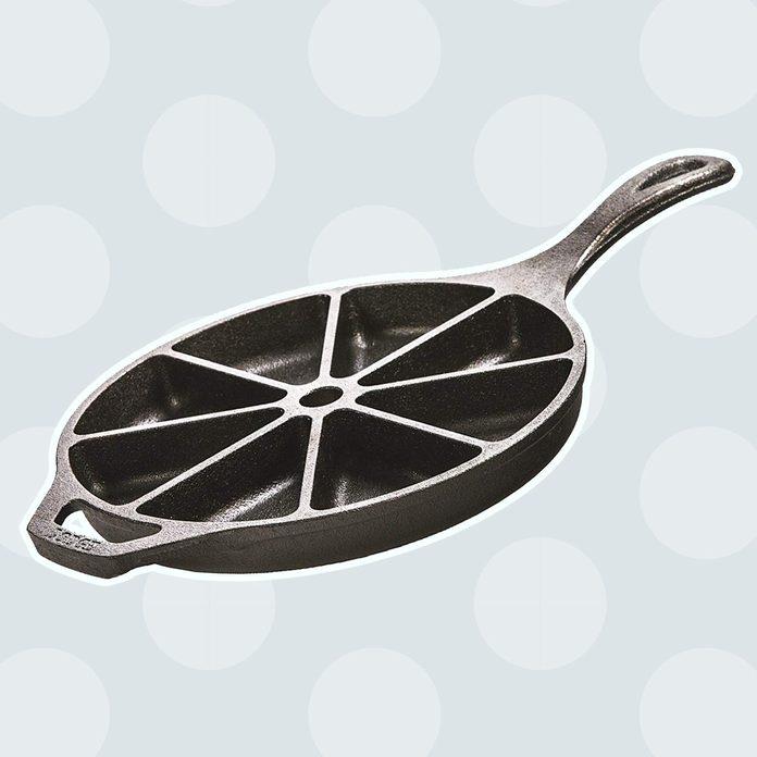 Cast Iron Cornbread Wedge Pan