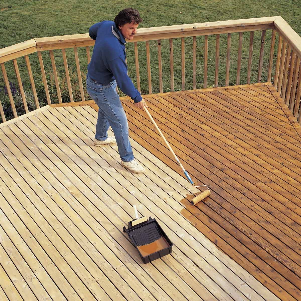 How To Revive A Deck Cleaning And Staining Tips