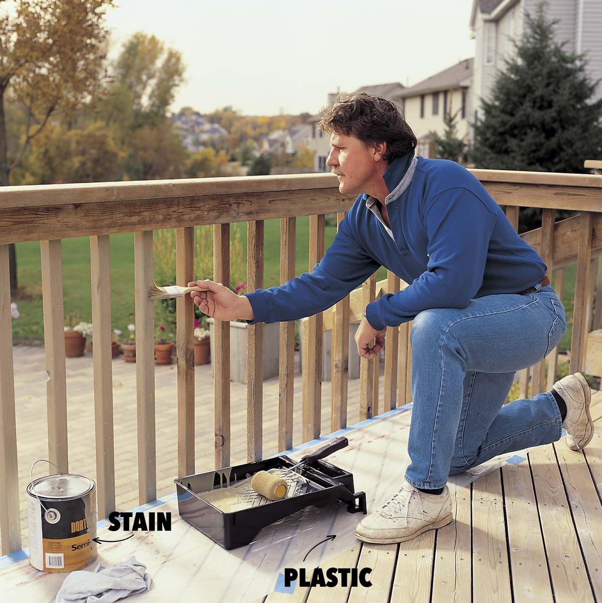 How To Revive A Deck Deck Cleaning And Staining Tips