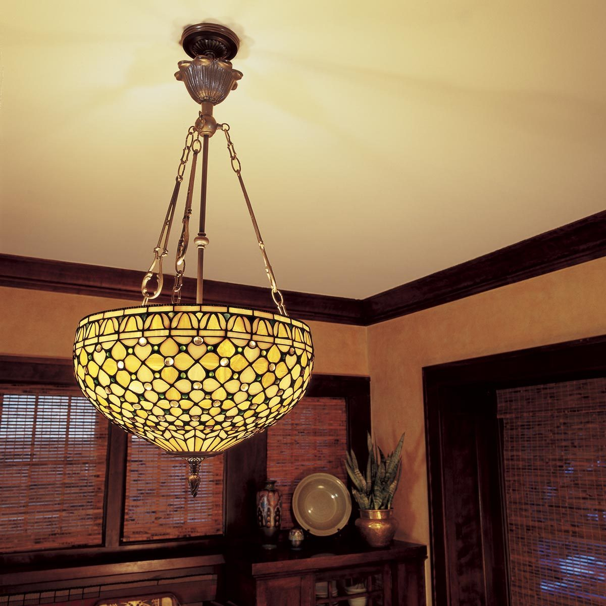How To Hang A Ceiling Light Fixture Diy Family Handyman