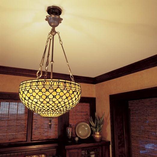 How To Hang A Ceiling Light Fixture Diy Family Handyman