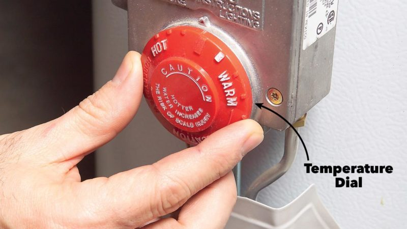 How to Adjust Hot Water Heater Temperature | Family Handyman