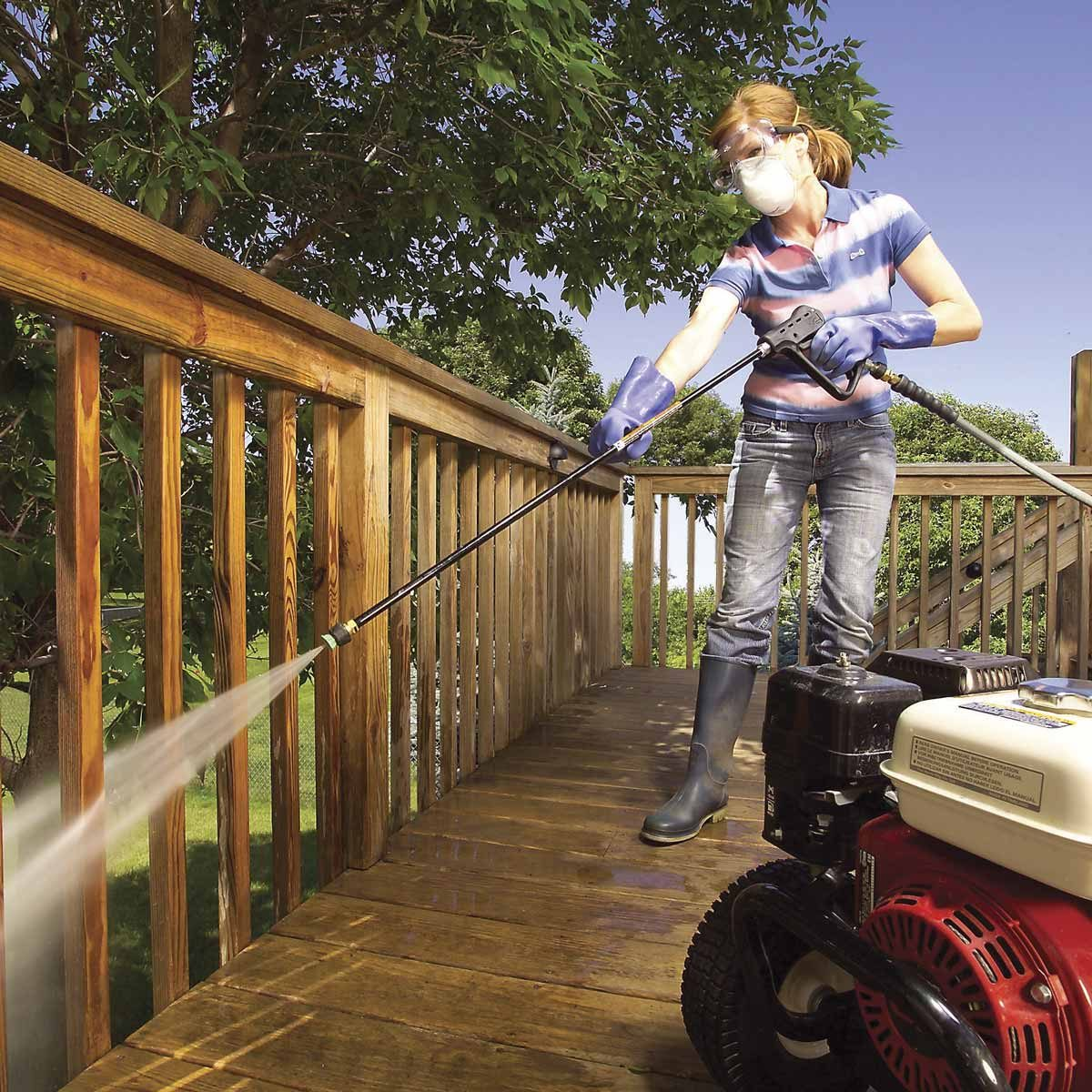 Deck Rescue Renew Your Deck Family Handyman