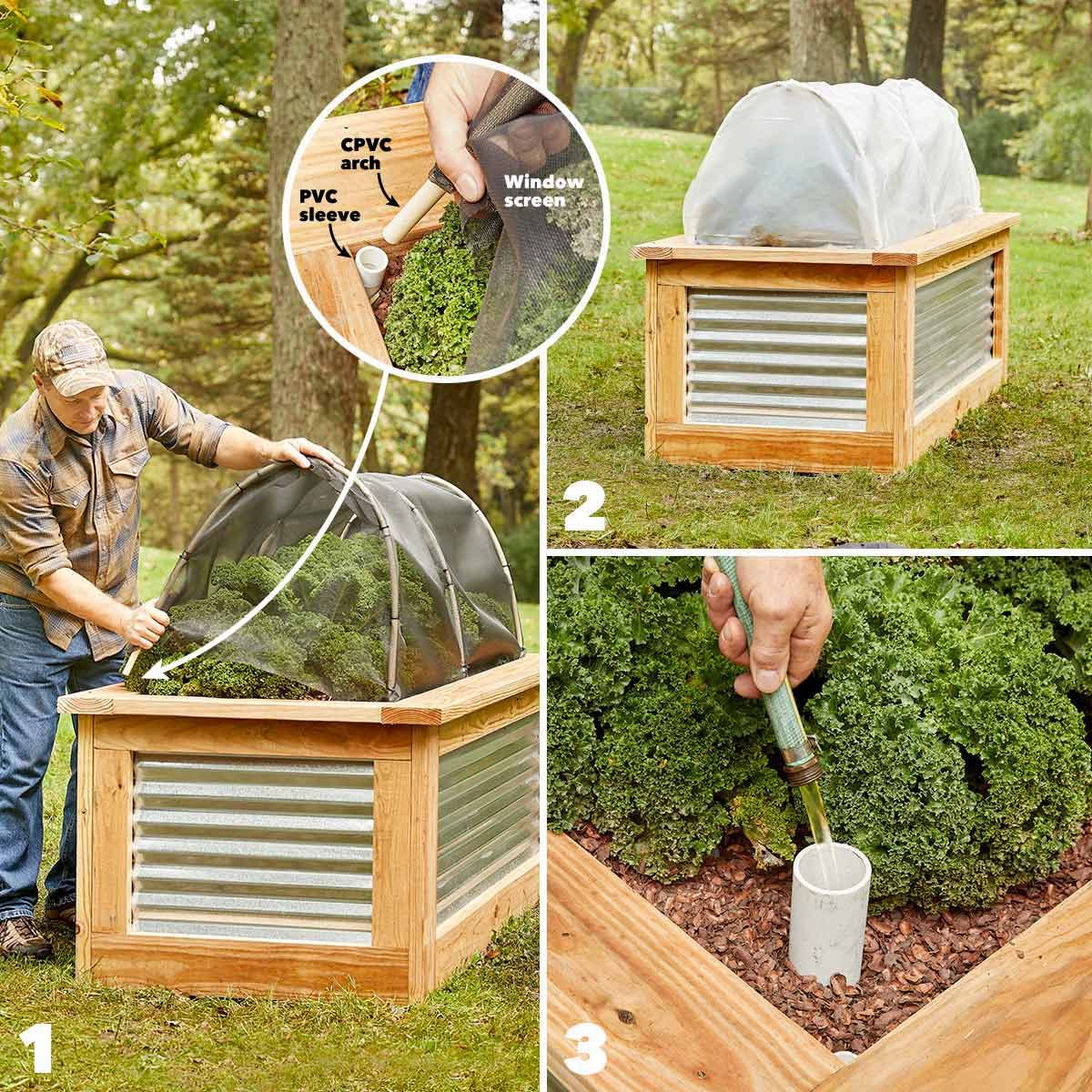 Picture of: How To Build Raised Garden Beds Diy Family Handyman