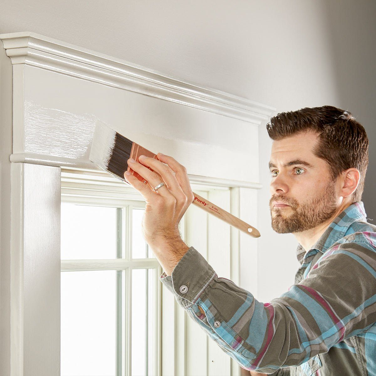 How To Better Trim Paint Family Handyman