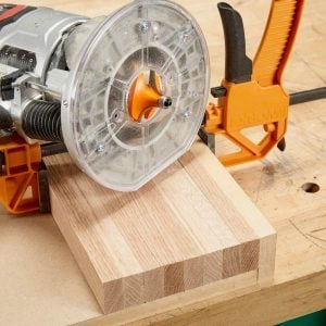 DIY End Grain Router Jig