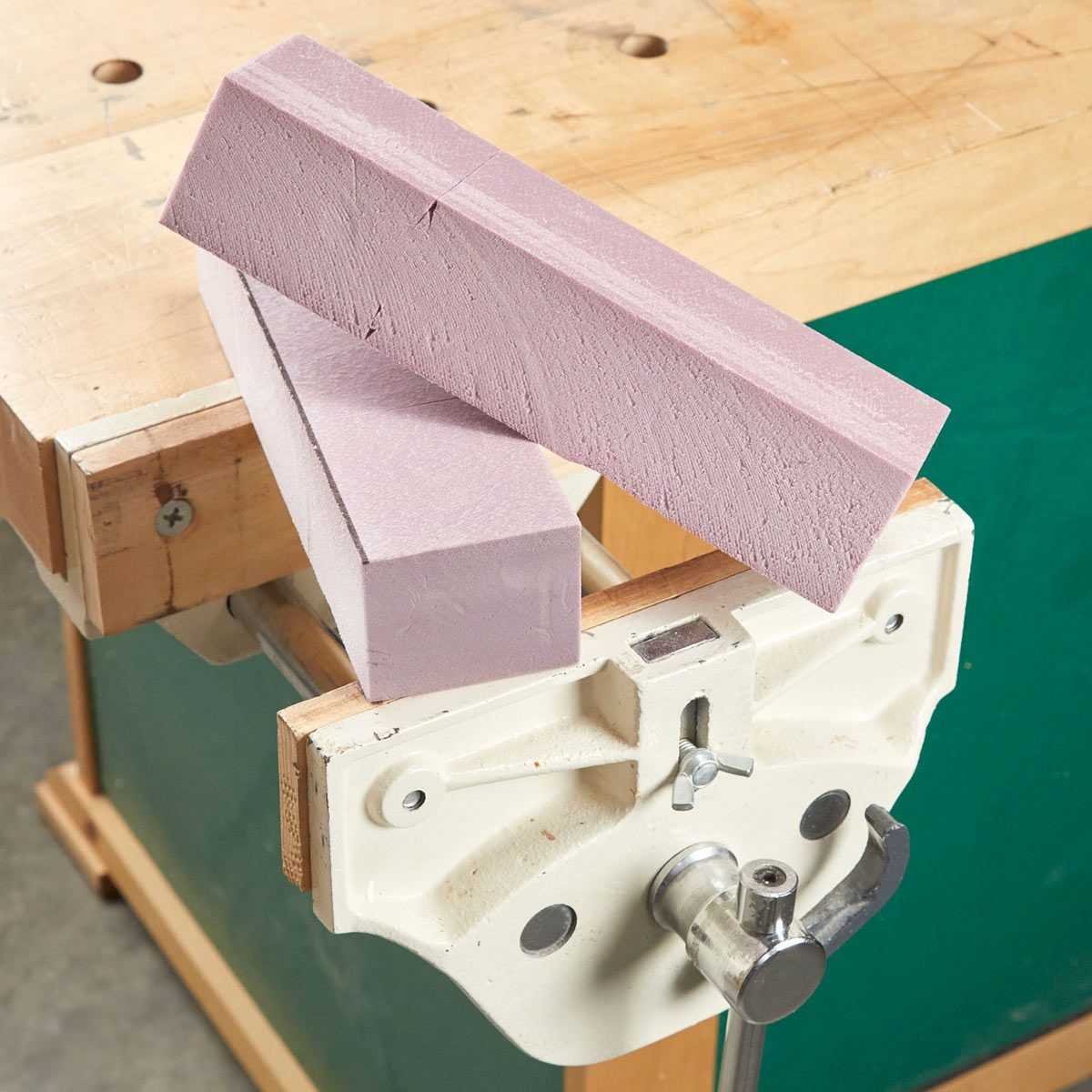 The Perfect Padding For Your Vise Family Handyman