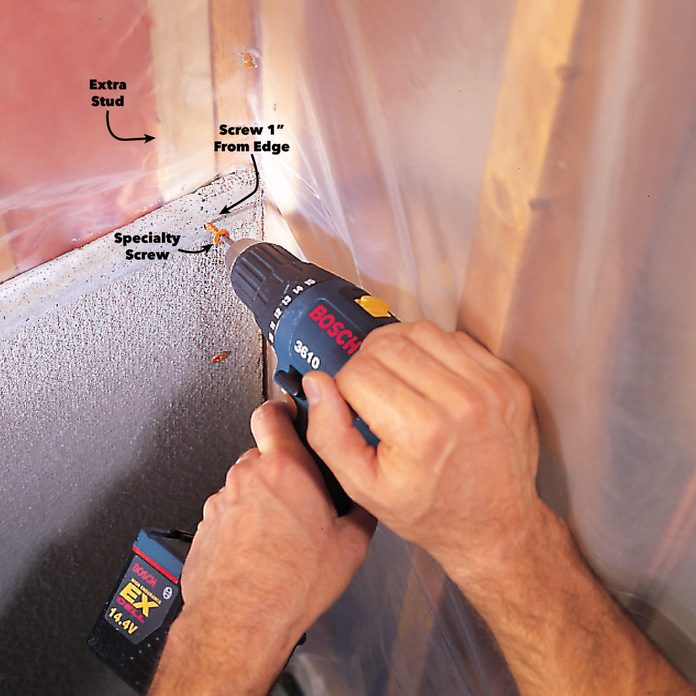 screw cement board