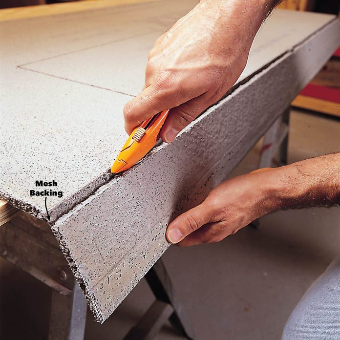 snap cement board