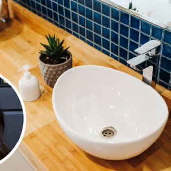 Here's How to Make A Small Bathroom Feel Bigger, According to Joanna Gaines