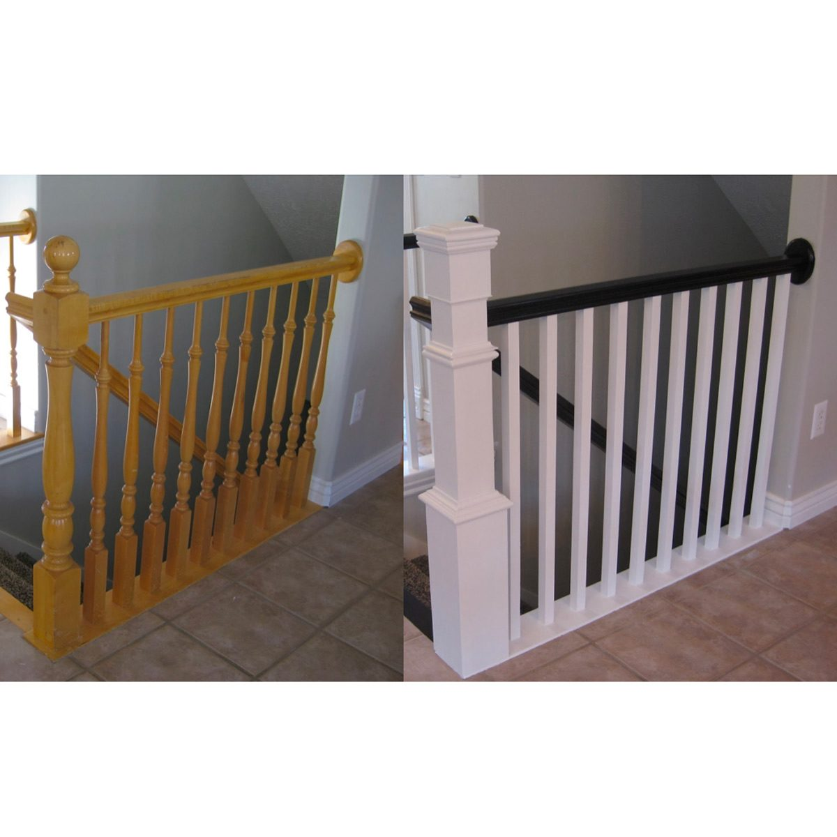 10 Ways To Freshen Up Outdated Banisters Family Handyman