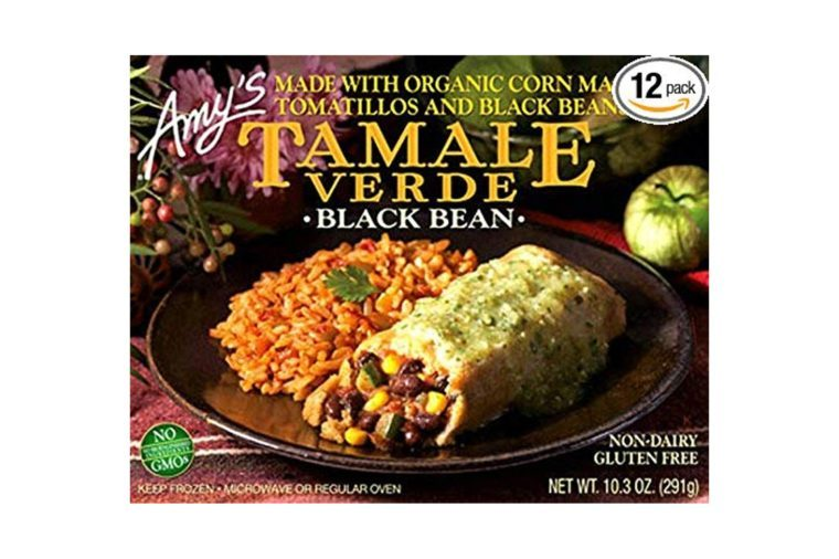 Amy's Black Bean Tamale Verde, 10.3-Ounce Boxes (Pack of 12)