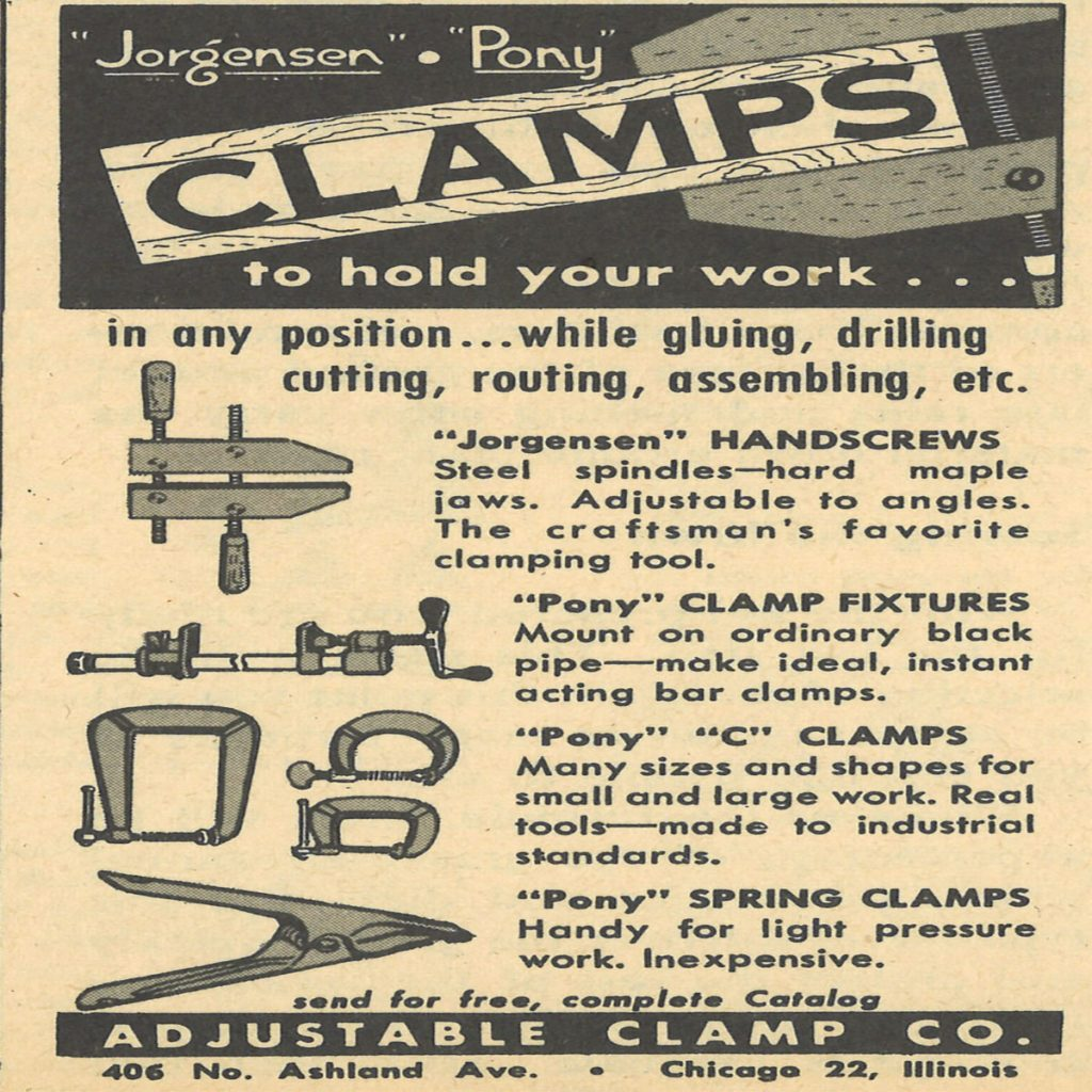 An ad for Jorgensen Clamps | Construction Pro Tips