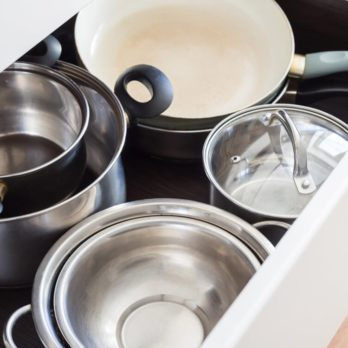 Is It Safe to Store Pans in Your Oven Drawer?