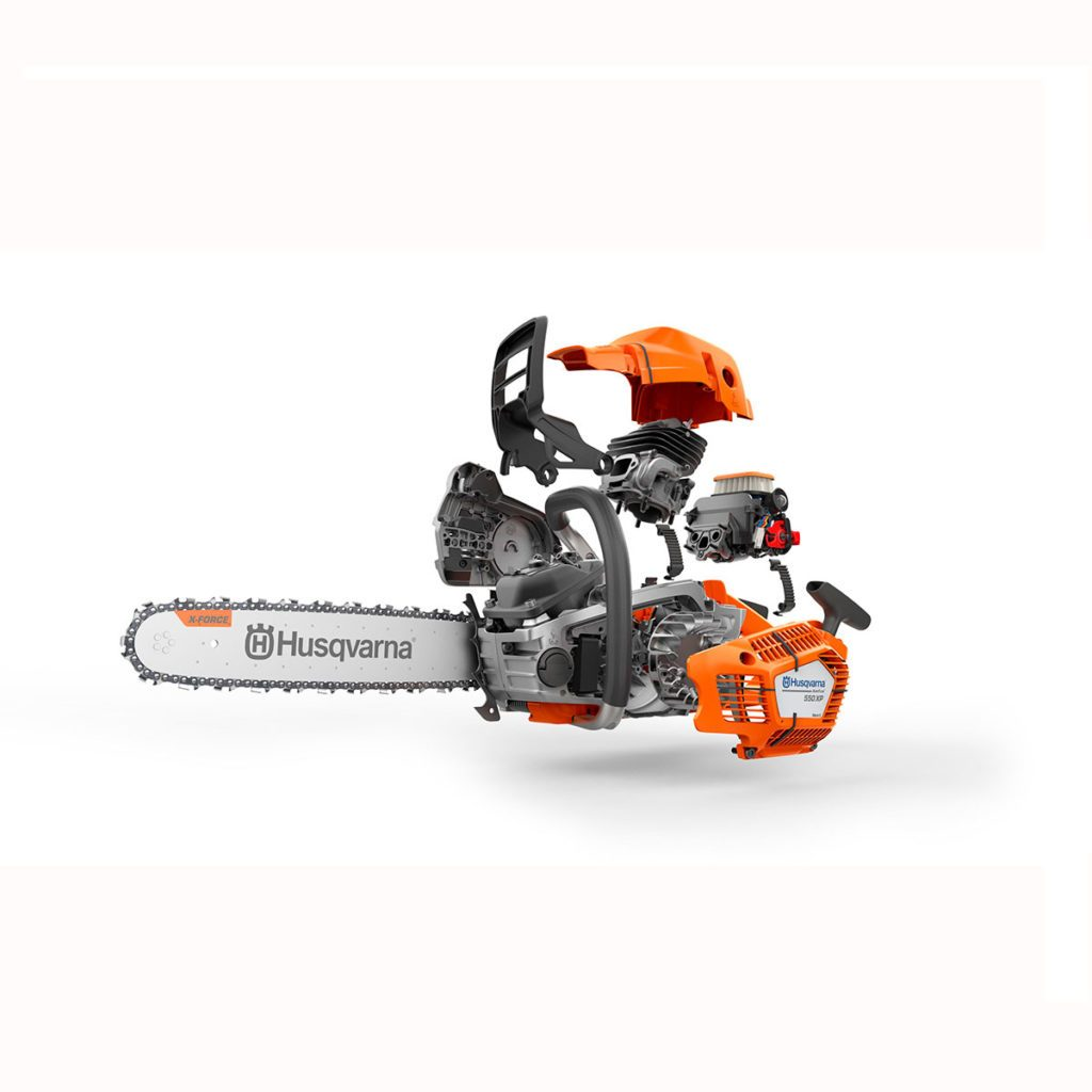 Husqvarna saw in an expanded view | Construction Pro Tips