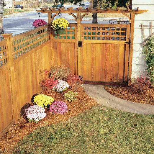 Fence stain Renew wooden fence