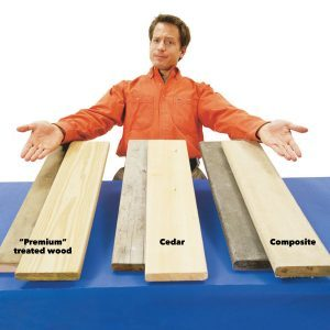 Comparing Wood Deck Options: Cedar, Pressure Treated Wood & Composite Decking