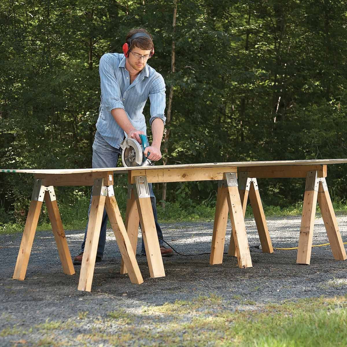 What Is A Sawhorse