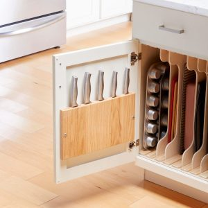 How to Make a Knife Rack for Inside Your Cabinet