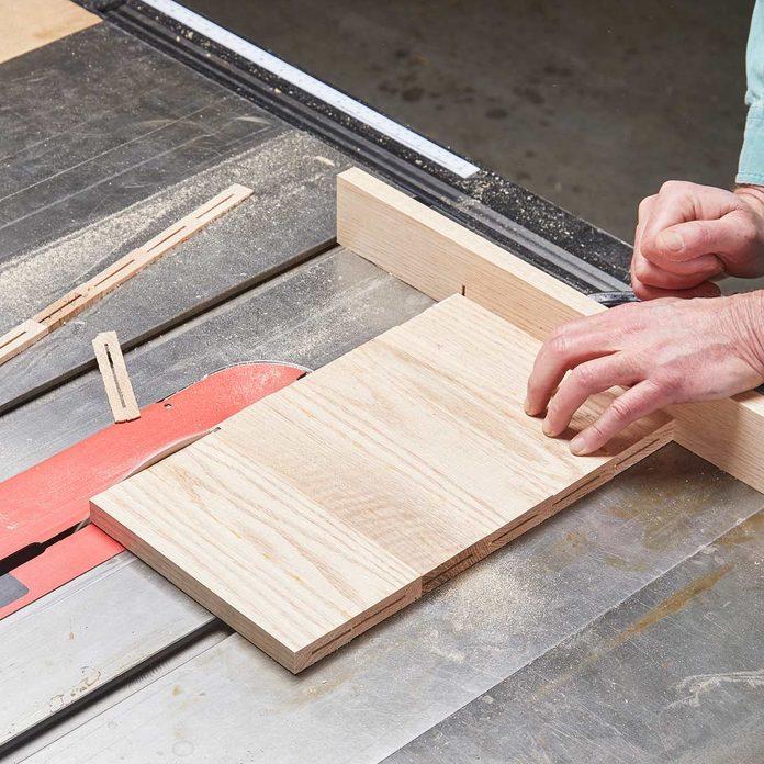 trim the edges