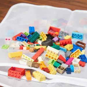 HH clean legos in dishwasher and delicates laundry bag