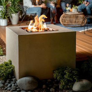 How to Make a Modern Outdoor Fireplace