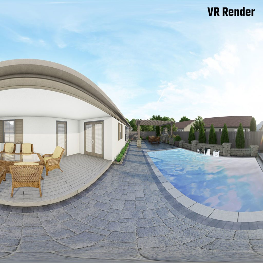 Virtual Reality rendering of a renovation project   Construction Pro Tips