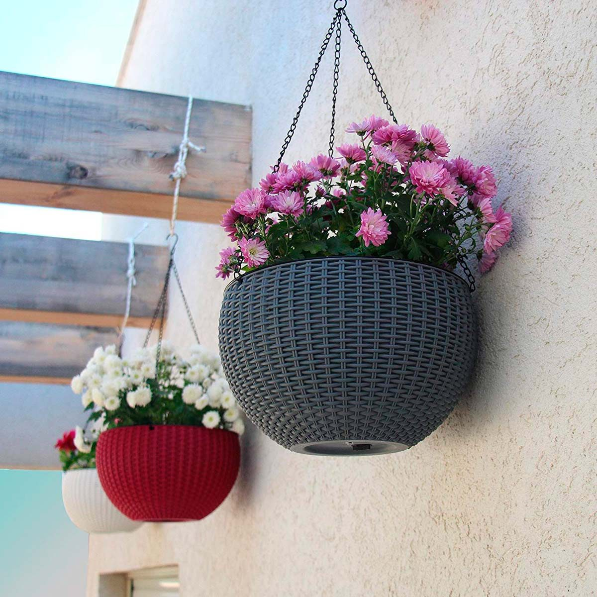 13 Self-Watering Outdoor Planters For The Easiest