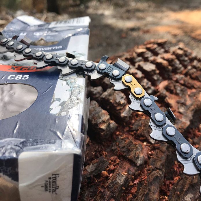 the newly redesigned chains on husqvarna chainsaws