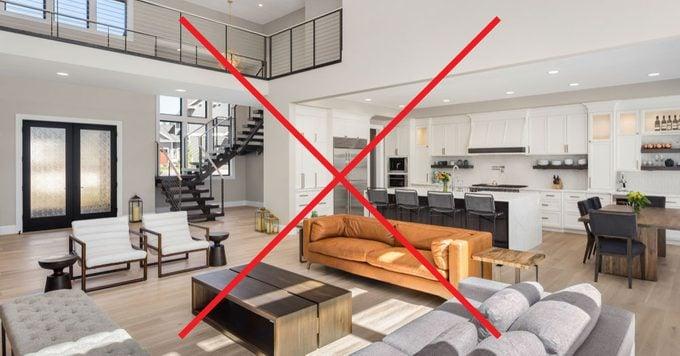 People Despise Open Concept Homes, Open Concept Living Room