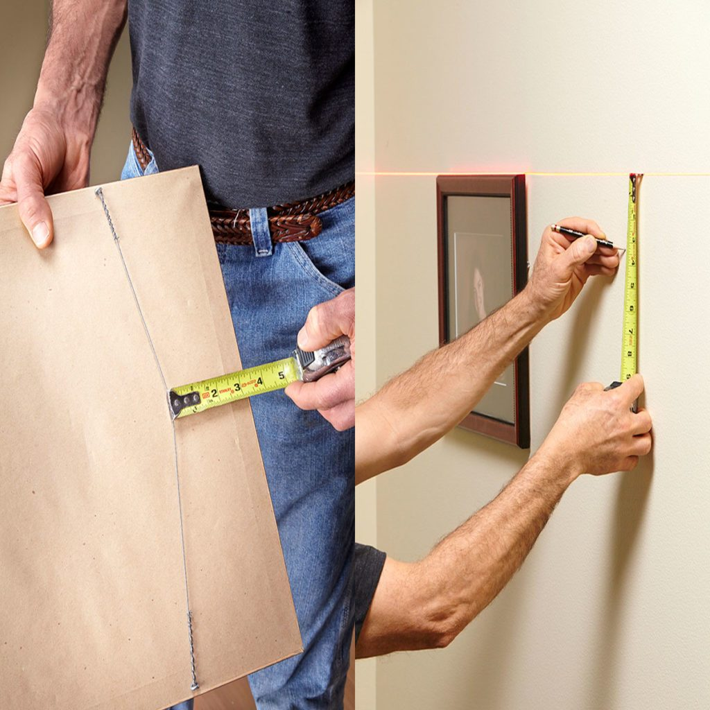 Hanging Pictures level | Construction Pro Tips