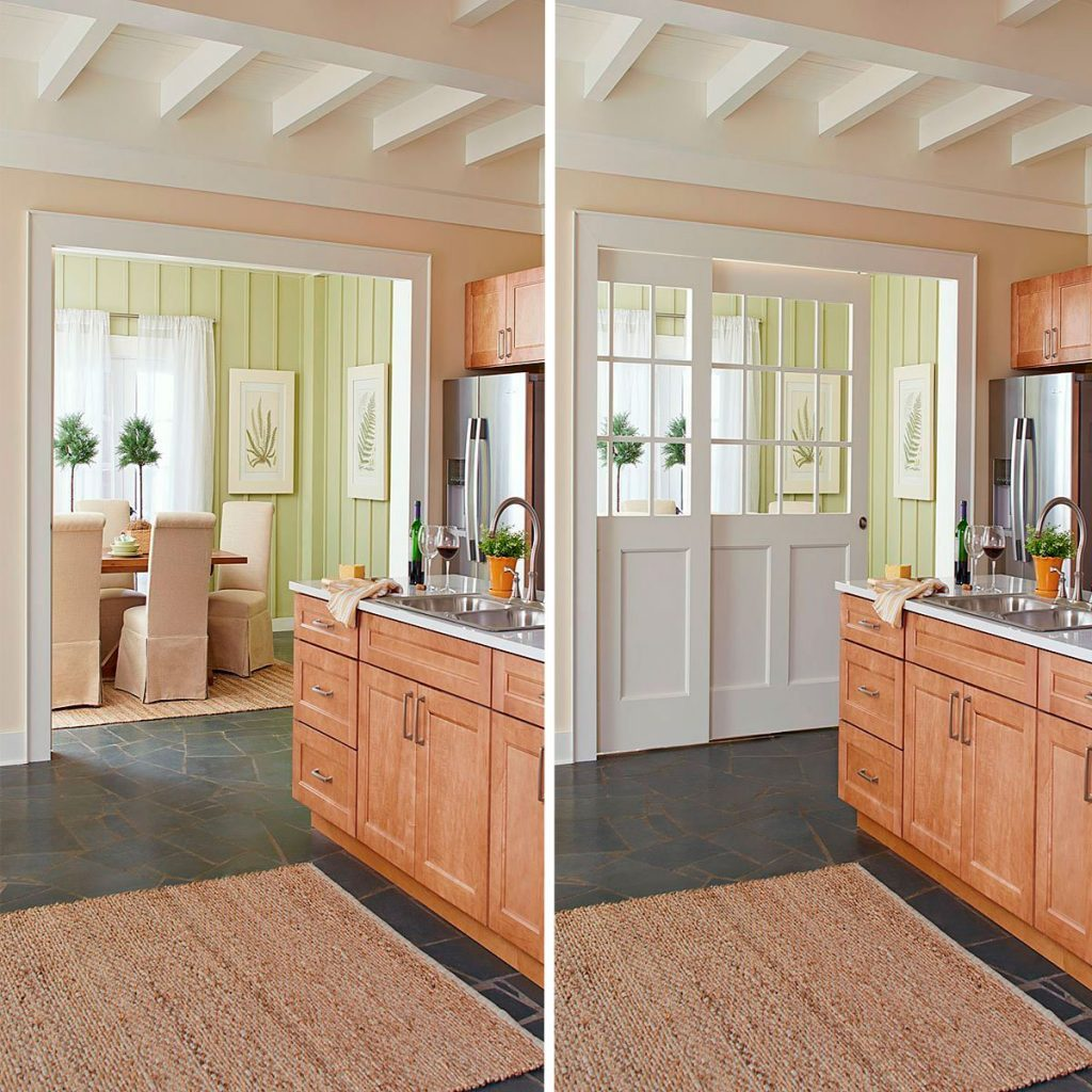 double-paneled pocket doors for large openings | Construction Pro Tips