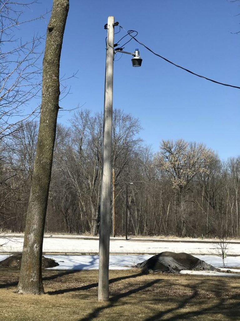 An electrical mast | Construction Pro Tips