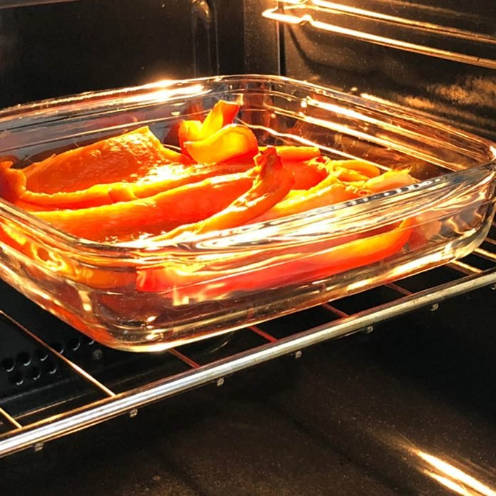 glass cookware oven